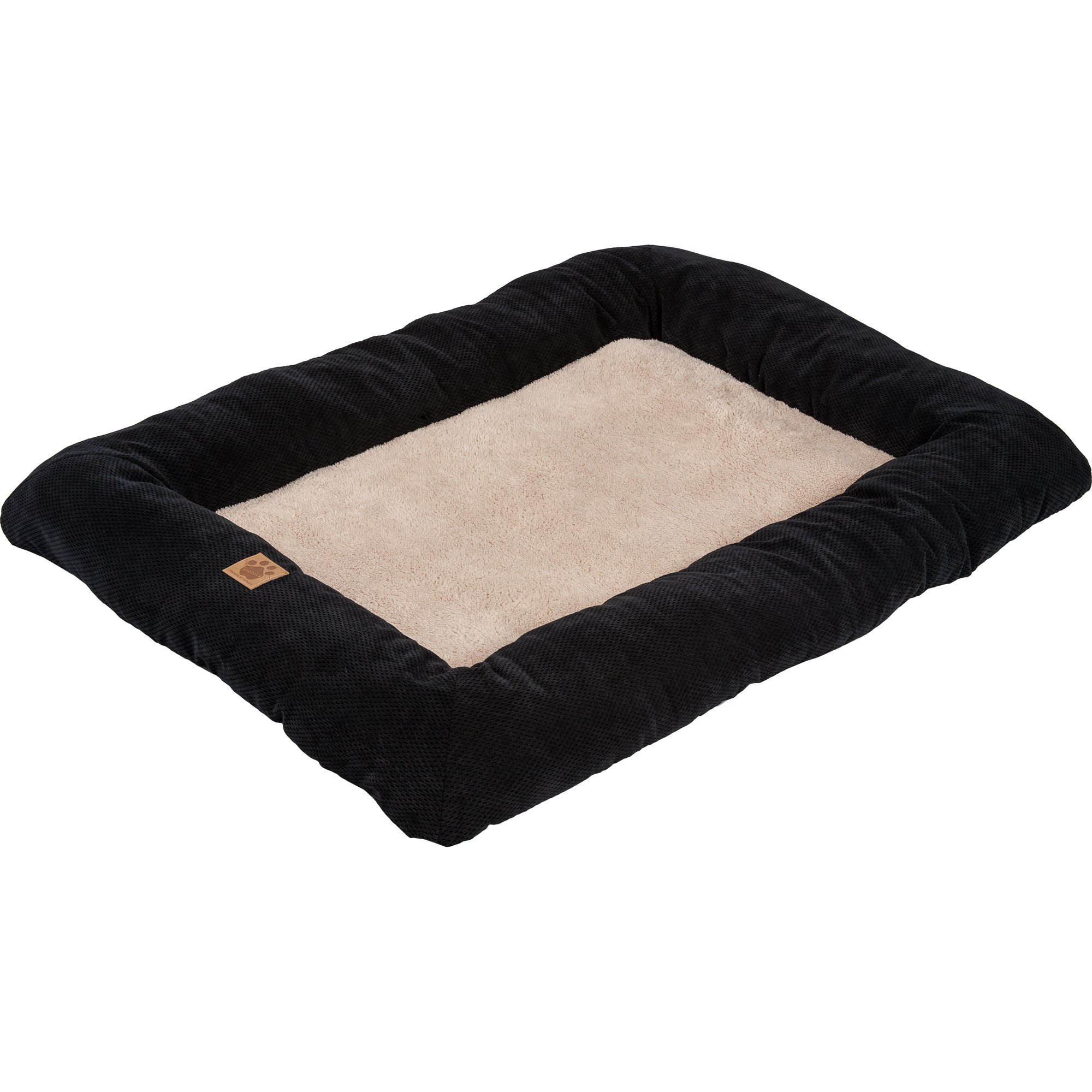 Precision Pet SnooZZy Mod Chic Low Bumper Mat, 5000 Black by Petmate (Image #1)