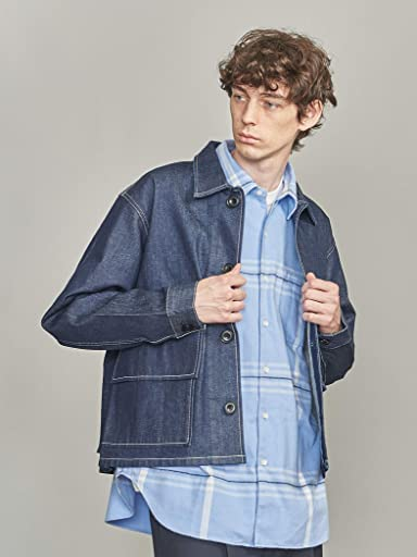 Denim Hunting Jacket 1225-104-8930: Navy