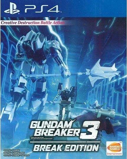 PS4 Gundam Breaker 3 Break Edition (English     - Amazon com
