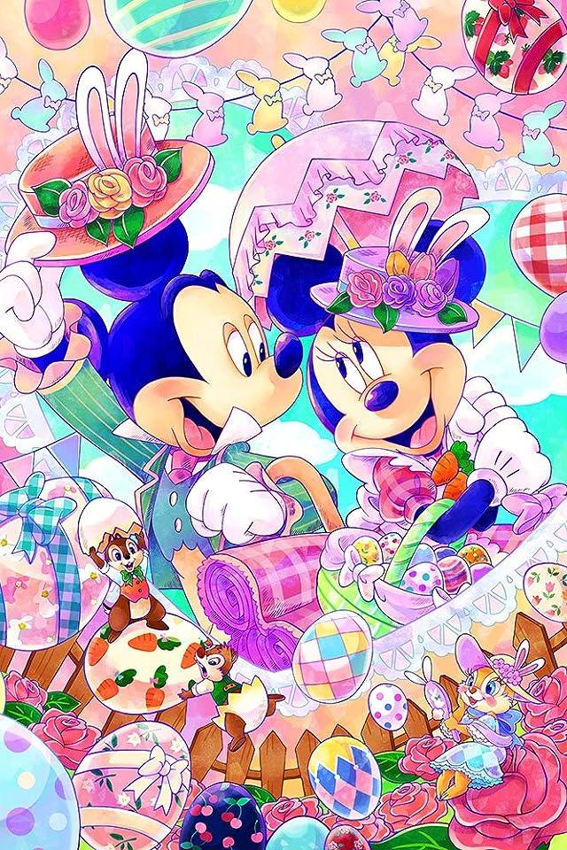 ディズニー ハッピーイースター iPhone(640×960)壁紙 画像63061 スマポ