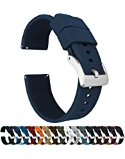 Barton Elite Silicone Watch Bands - Quick Release - Choose Color - 18mm, 20mm & 22mm Watch Straps