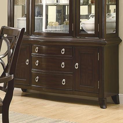 amazon com coaster home furnishings 103534b contemporary buffet rh amazon com
