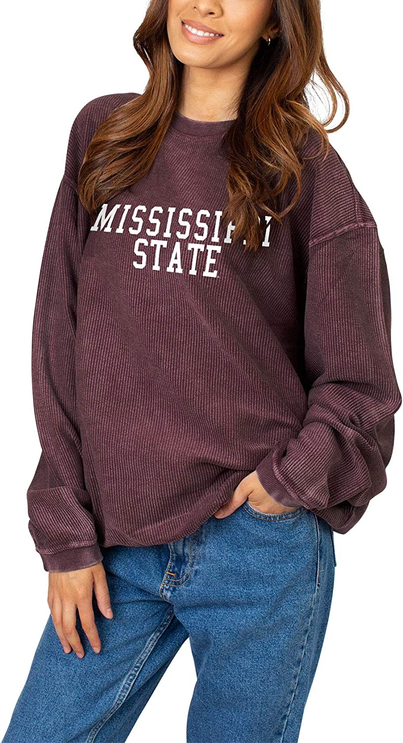 chicka-d NCAA womens Corded Crew