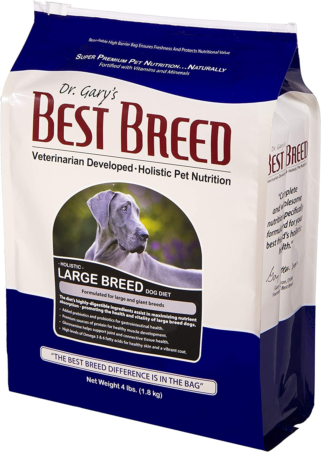 Best Breed Large Breed Dog Diet Made in USA [Natural Dry Dog Food]