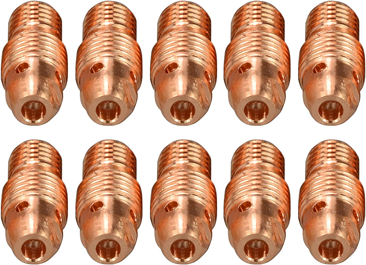 """WeldCraft 13N29 Copper 1//8/"""" Gas Lens Collet Collet 5 Pack
