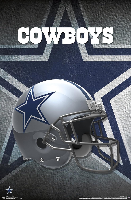 Trends International Dallas Cowboys Helmet Wall Poster 22.375 x 34