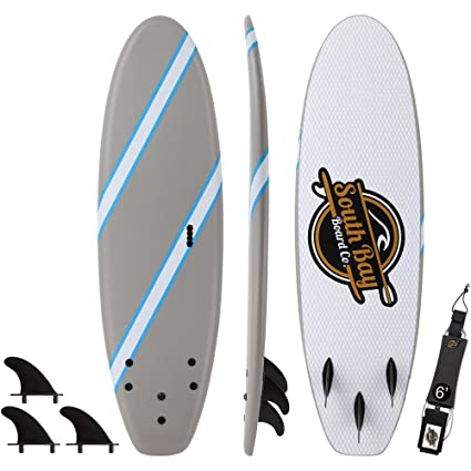 SBBC - Soft Top Surfboard - || 6ft Guppy || - Fun Performance Foam