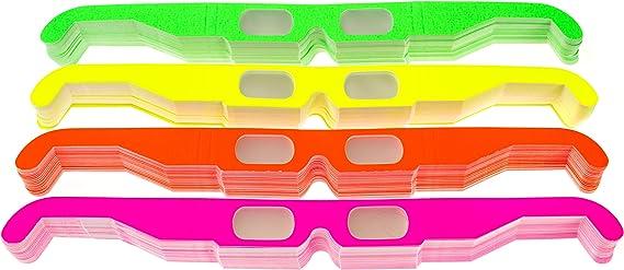 Festivals Raves Paper Diffraction Glasses for Lights