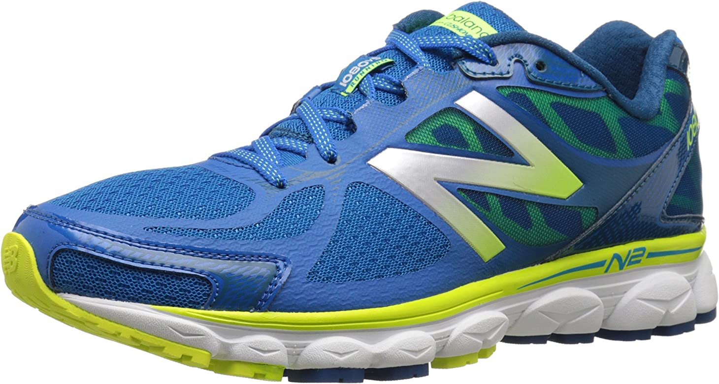 New Balance NBX Neutral - Zapatillas de running unisex, BLUE/YELLOW (426), 47.5: Amazon.es: Zapatos y complementos