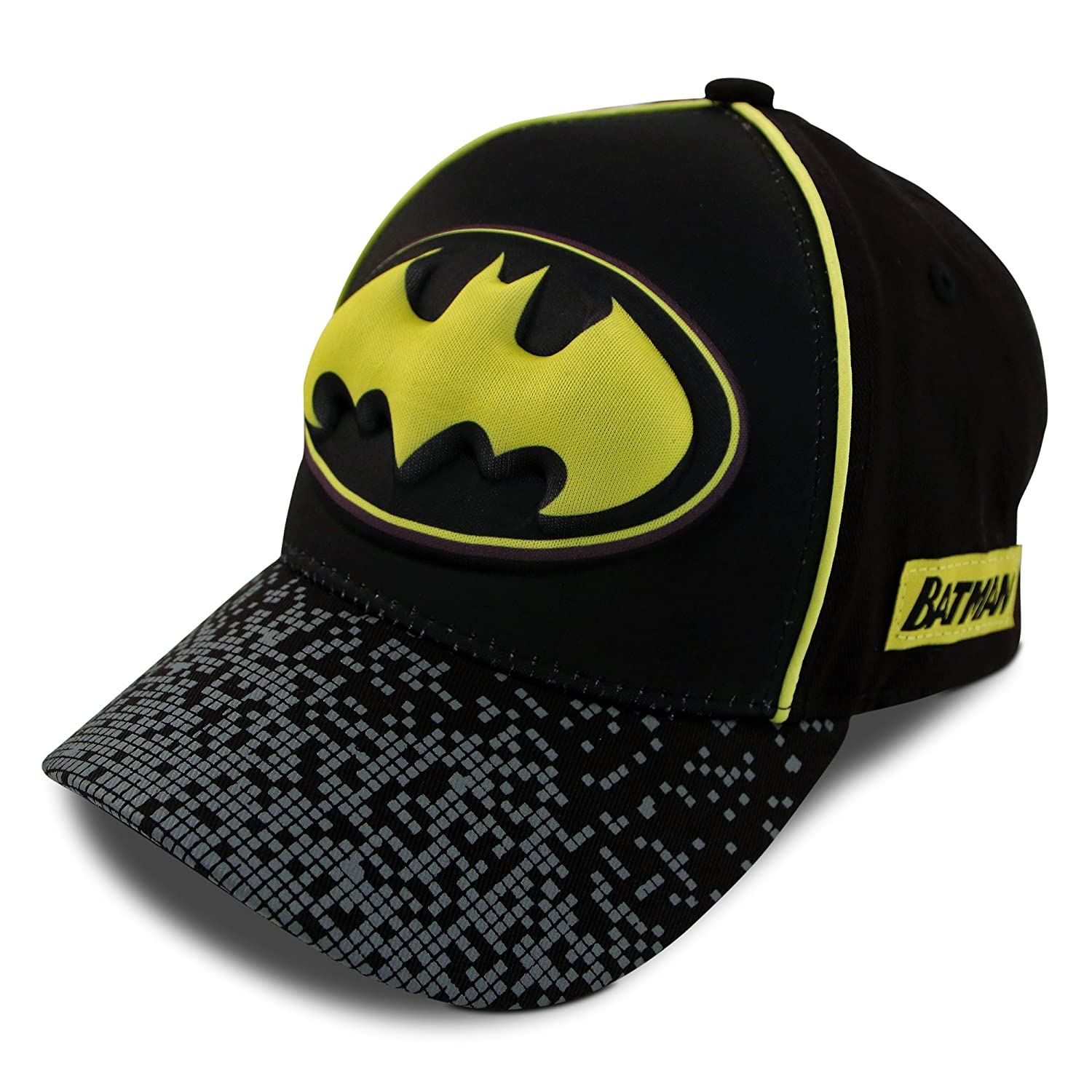 DC Comics Little Boys Assorted Superhero Designs 3D Pop Cotton Baseball Cap, Age 2-7 ABG Accessories
