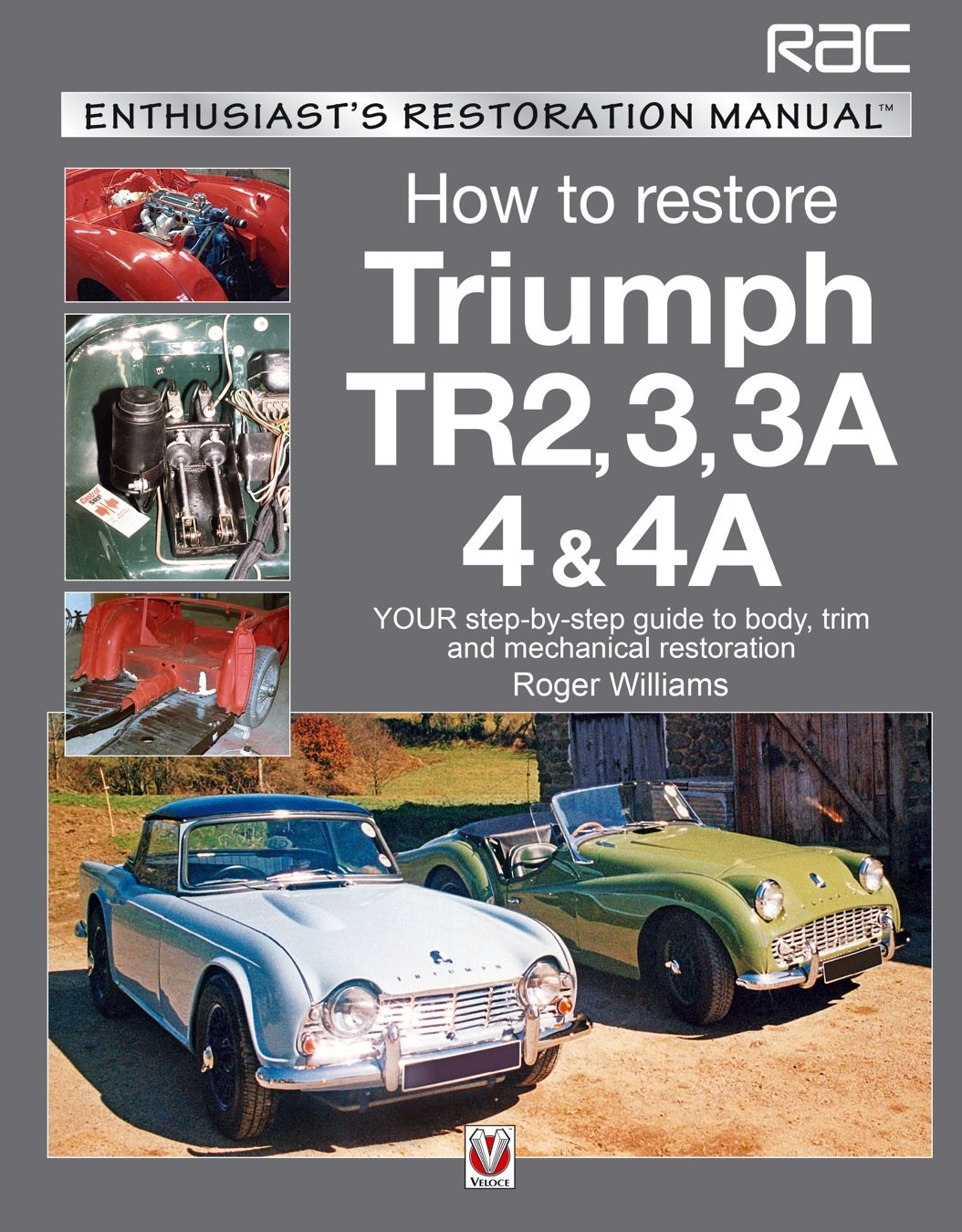 Read Online How to Restore Triumph TR2, 3, 3A, 4 & 4A: Your step-by-step guide to body, trim and mechanical restoration (Enthusiast's Restoration Manual) PDF