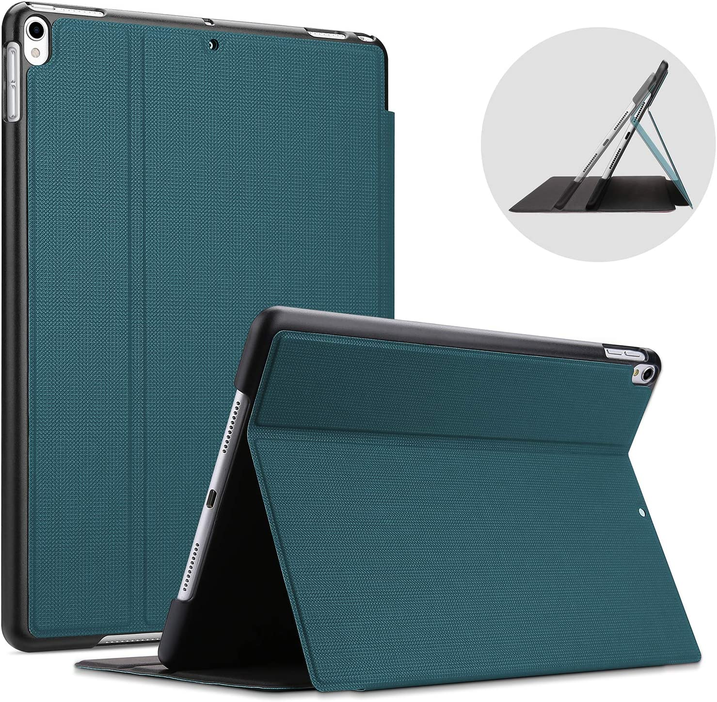 "ProCase iPad Air 3 10.5"" 2019 / iPad Pro 10.5 2017 Case, Slim Stand Protective Folio Case Smart Cover for iPad Air 10.5"" (3rd Gen) 2019 / iPad Pro 10.5"" 2017 -Teal"