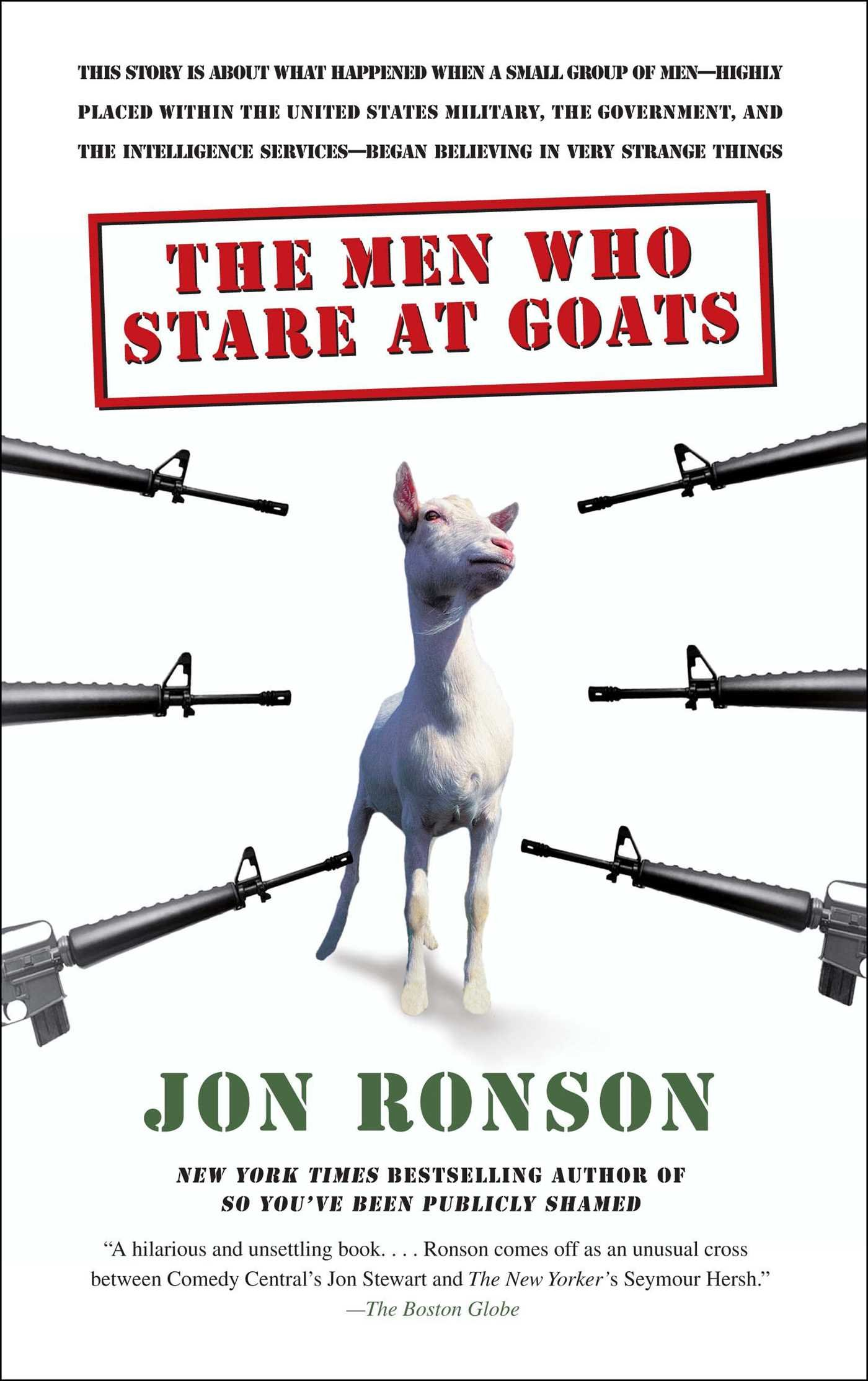 Men Who Stare Goats product image