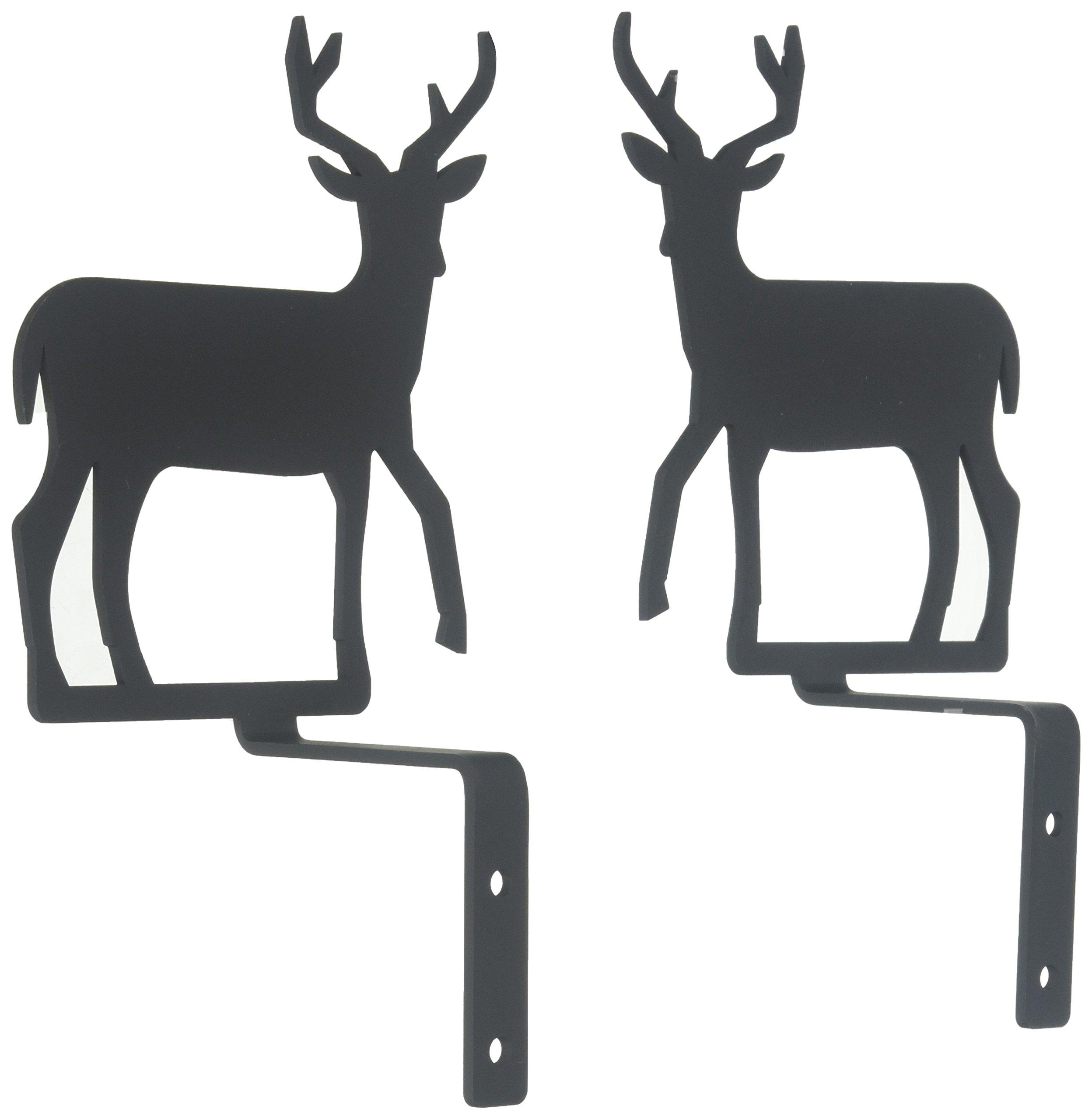 6.25 Inch Deer Curtain Swags