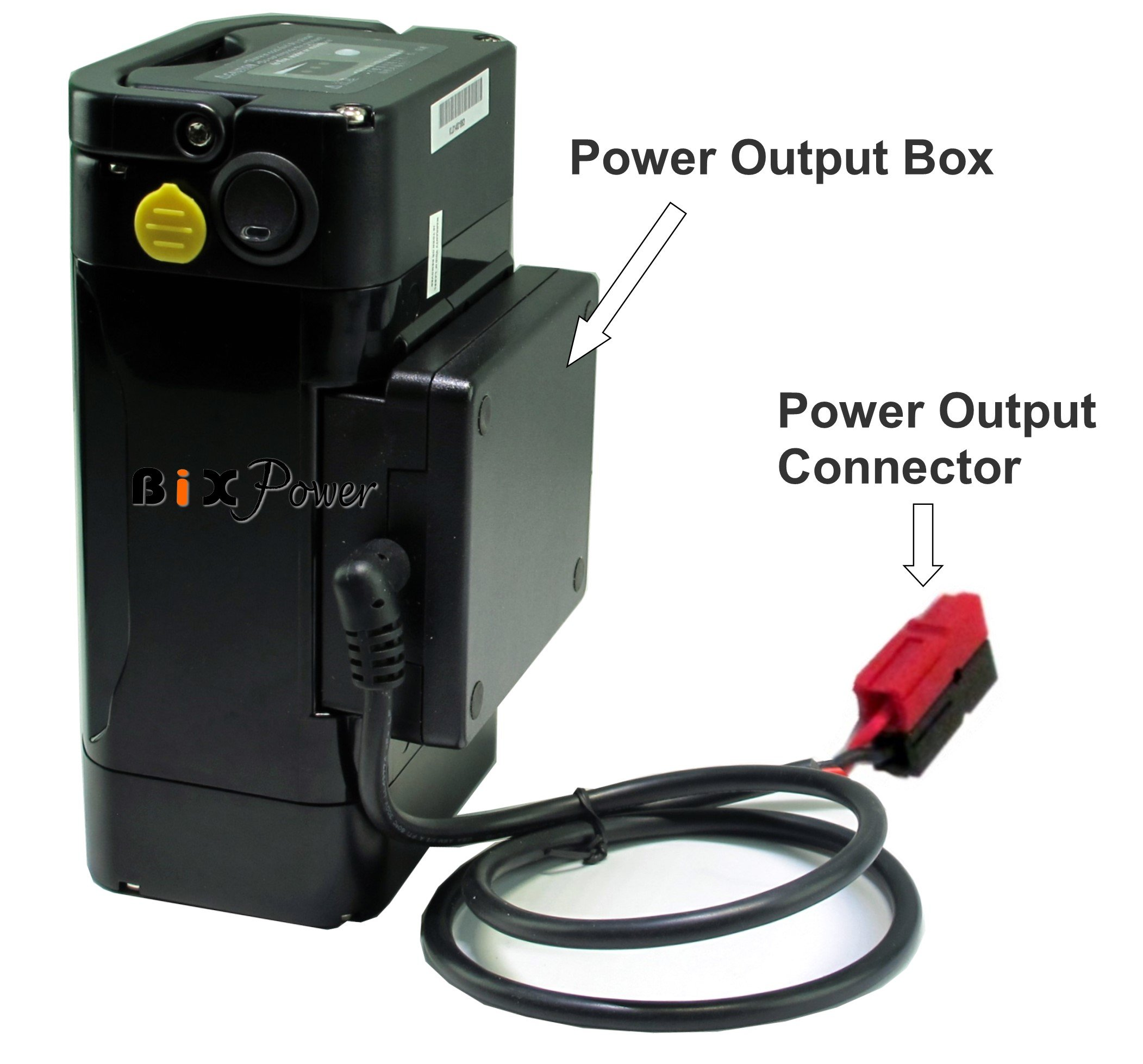 BiXPower MP330DC Battery Pack - Super Capacity 336 Watt-hour Light Weight Battery with Multi Output Voltages (12v/15v/16v/18v/19v/24v) Power Converter Combo Kit by BiXPower (Image #2)