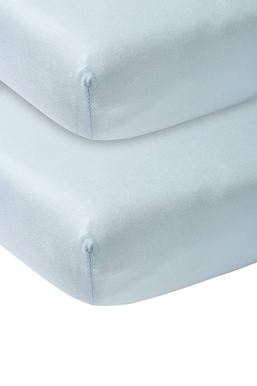Meyco 563004 Jersey Spannbetttuch 40x80//90cm Wiege 100/% Baumwolle Grau