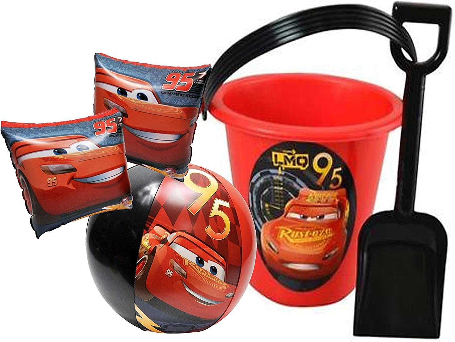 SWIMWAYS CARS 3 LIGHT UP INFLABABLE BEACH BALL