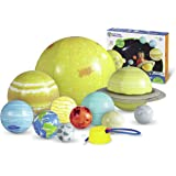 Learning Resources Demonstrate rotation, revolution, and orbit in 3 dimensions with this durable, washable solar system set