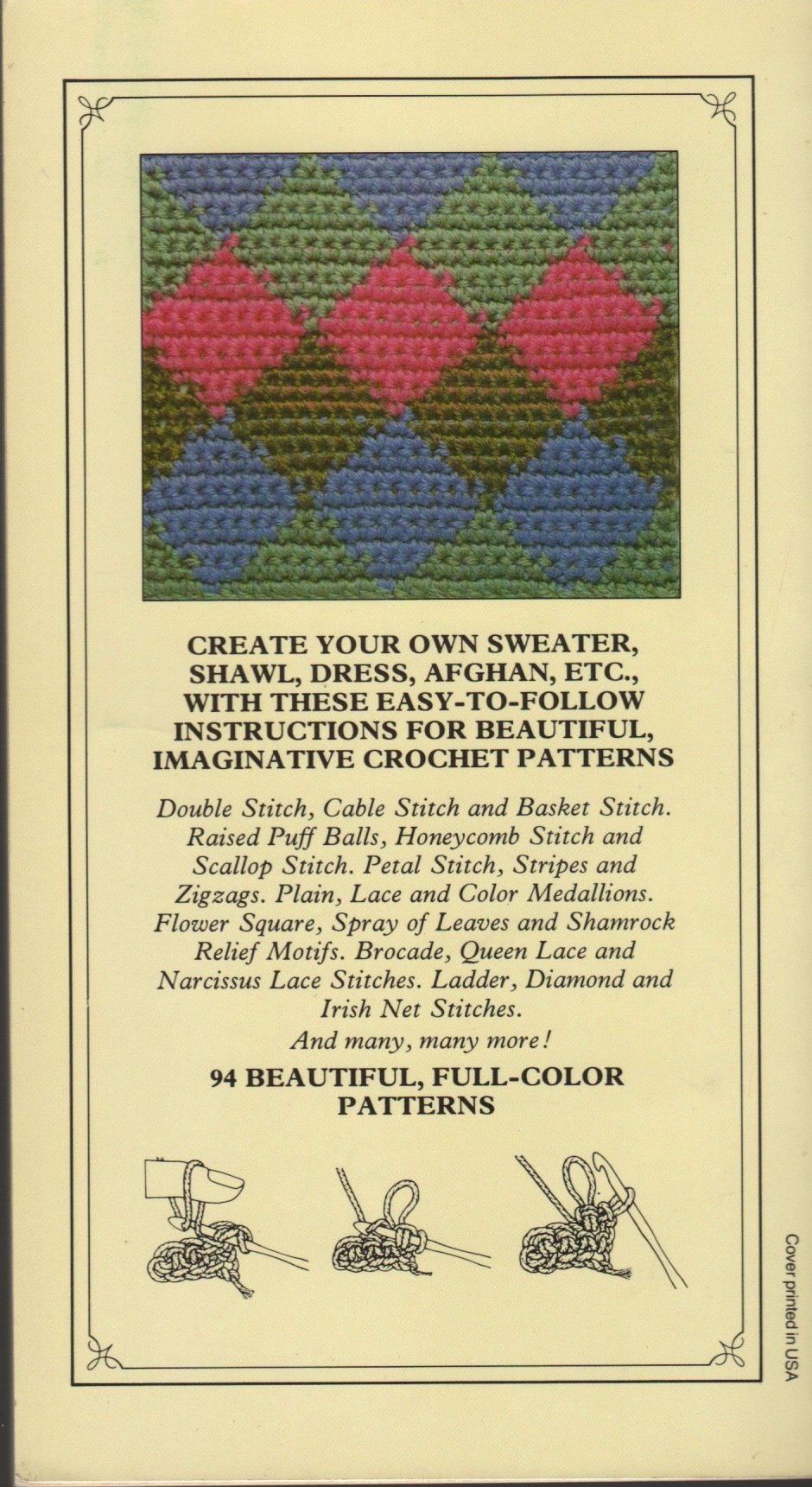 Crochet The Pattern Library Amy Carroll Dorothea Hall