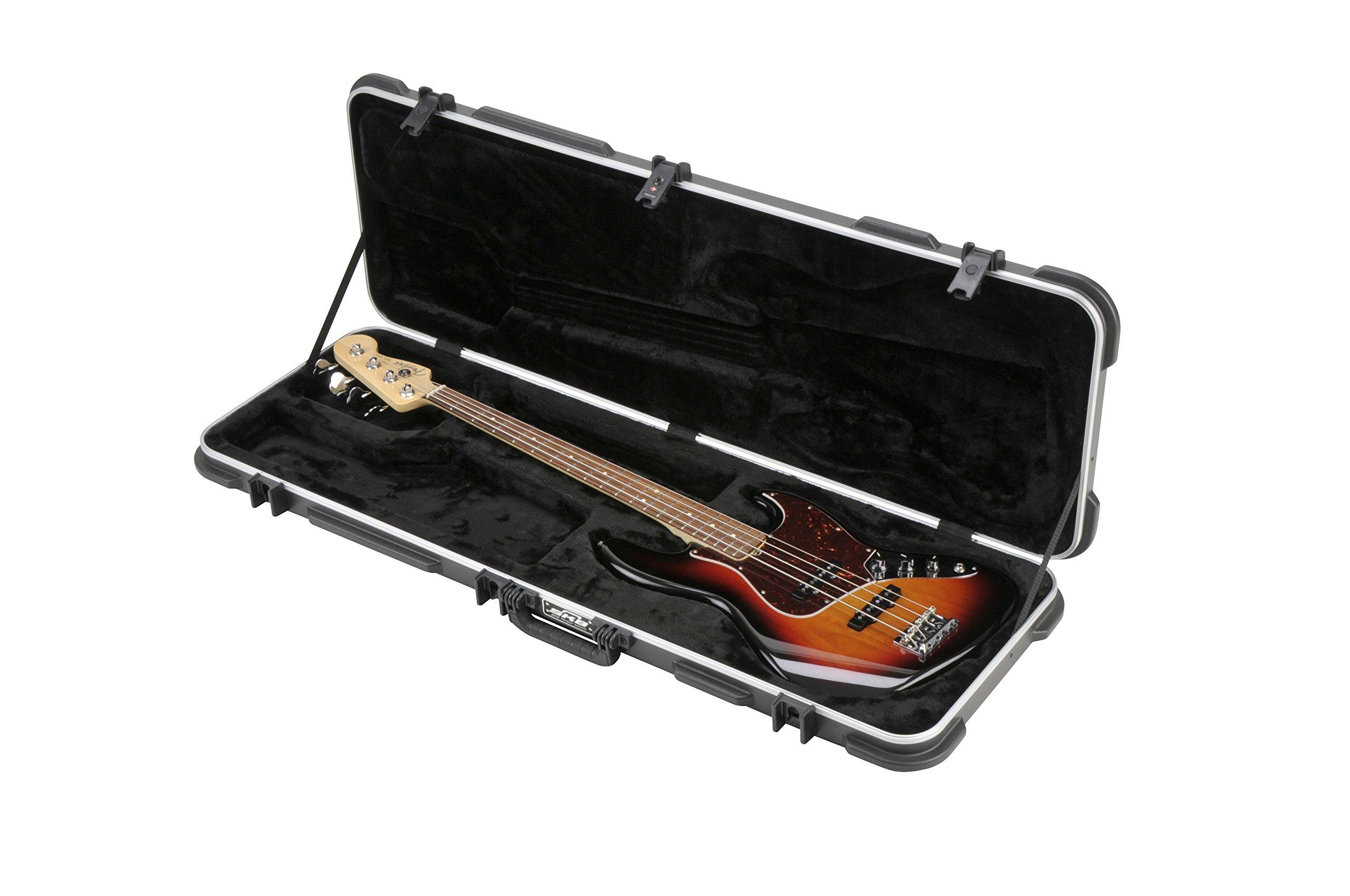 SKB Electric Bass Rectangular Hardshell - TSA Latch, Over-Molded Handle