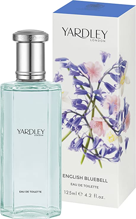 Yardley London English Bluebell Agua de colonia para mujer, 125 ml ...