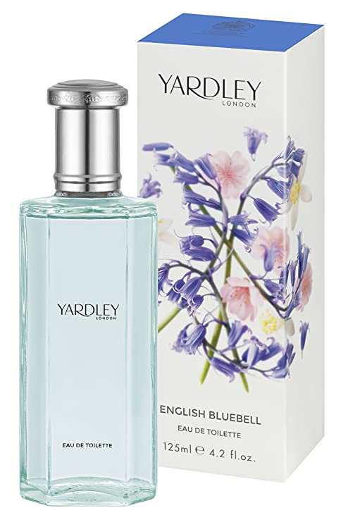 Yardley London English Bluebell Agua de colonia para mujer, 125 ml