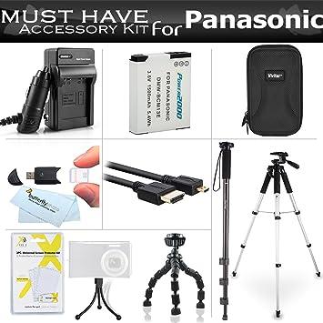 Cargador Para Panasonic Lumix dmc-zs40 dmc-zs50 Cámara Digital dmc-zs45 Batería