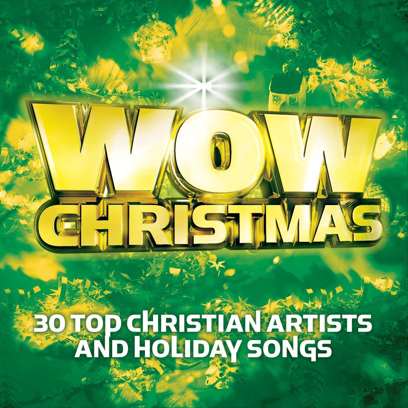 CD : WOW - Wow Christmas: Green /  Various (CD)