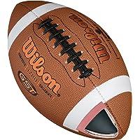 Wilson American Football, vrijetijdsspelers, officiële maat, GST OFFICIAL COMPOSITE, bruin, WTF1780XB