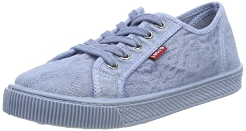 Levis Footwear and Accessories Malibu Beach S, Zapatillas para Mujer, Azul (Light Blue