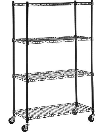 Scaffali Metallici Ikea.Amazon It Scaffalature E Ripiani Di Immagazzinaggio Casa E