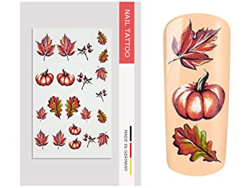 Nailart Tattoo Herbst Ii Amazon De Beauty