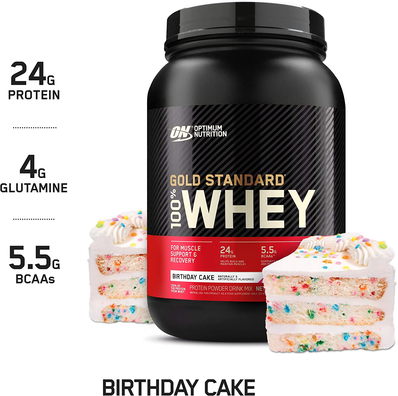 Swell Amazon Com Optimum Nutrition Gold Standard 100 Whey Protein Funny Birthday Cards Online Chimdamsfinfo