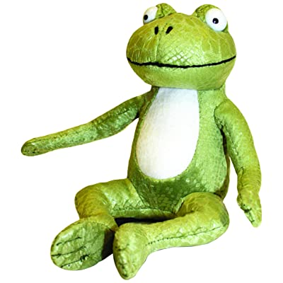 "7"" Room On The Broom Frog Soft Toy: Toys & Games"