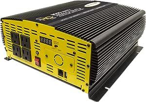 Go Power! Heavy Duty Modified Sine Wave Inverter (3000-watts)