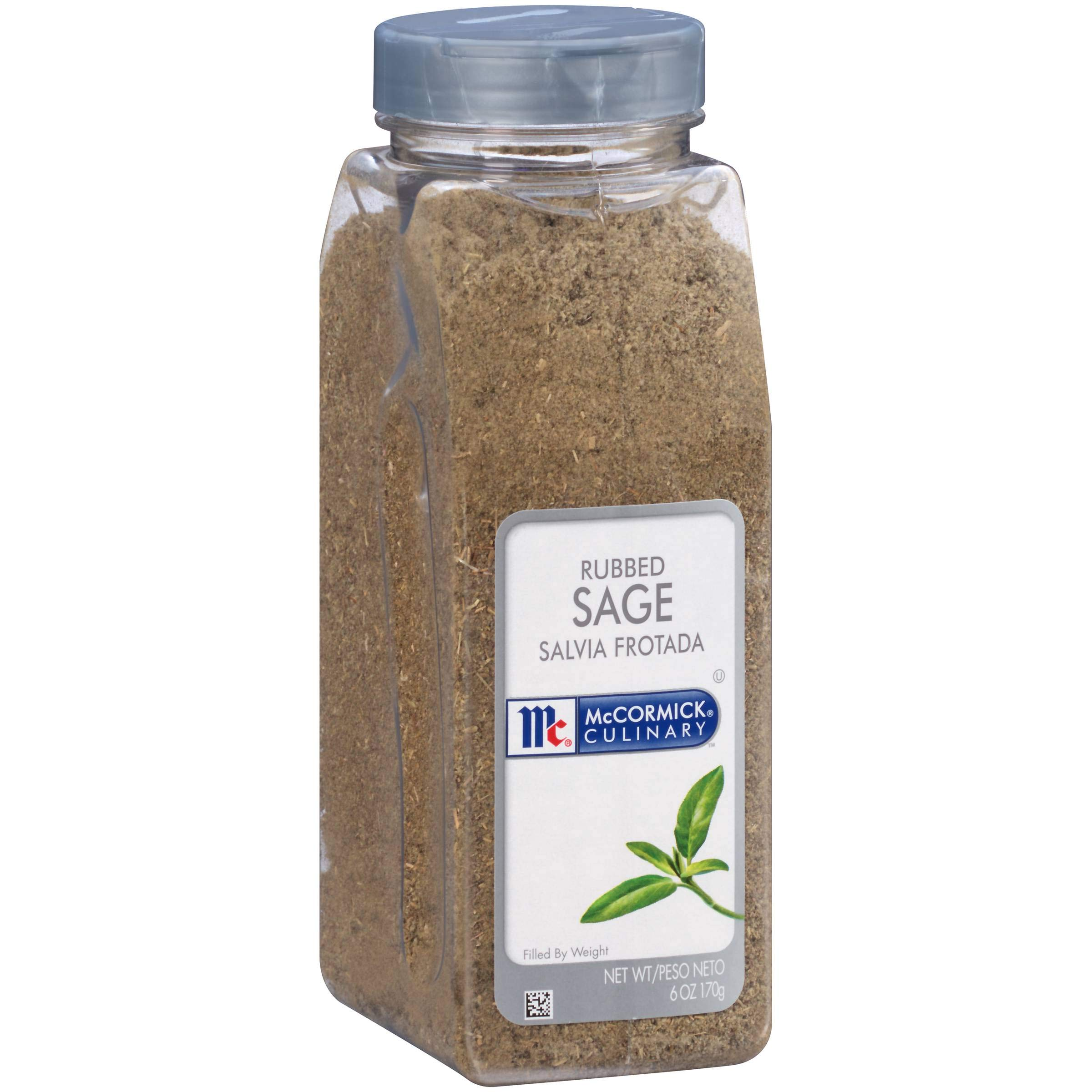 McCormick Rubbed Sage - 6 oz. container, 6 per case by McCormick