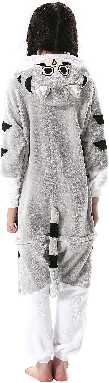 Kids Animal Pajamas Kigurumi Unisex Cosplay Costume Child one piece Nightwear UK