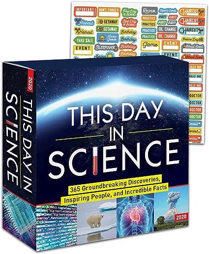 The Big Bang Theory 2020 Kalender Box Edition Set TBBT-Geschenke, B/ürobedarf Deluxe 2020 The Big Bang Theory Tageskalender mit /über 100 Kalenderaufklebern