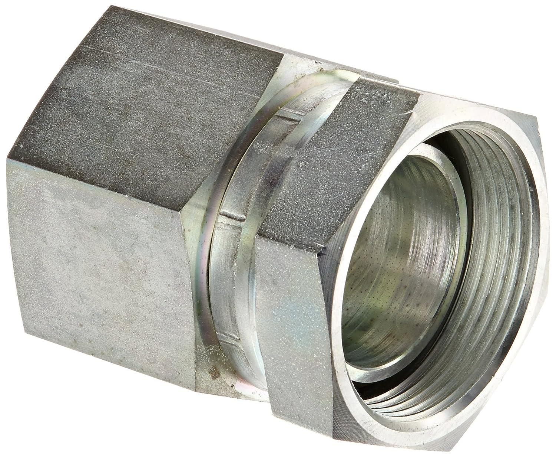 Eaton Aeroquip 2046-12-12S Steel Pipe Fitting Adapter 3//4 NPSM Female x 3//4 NPT Female