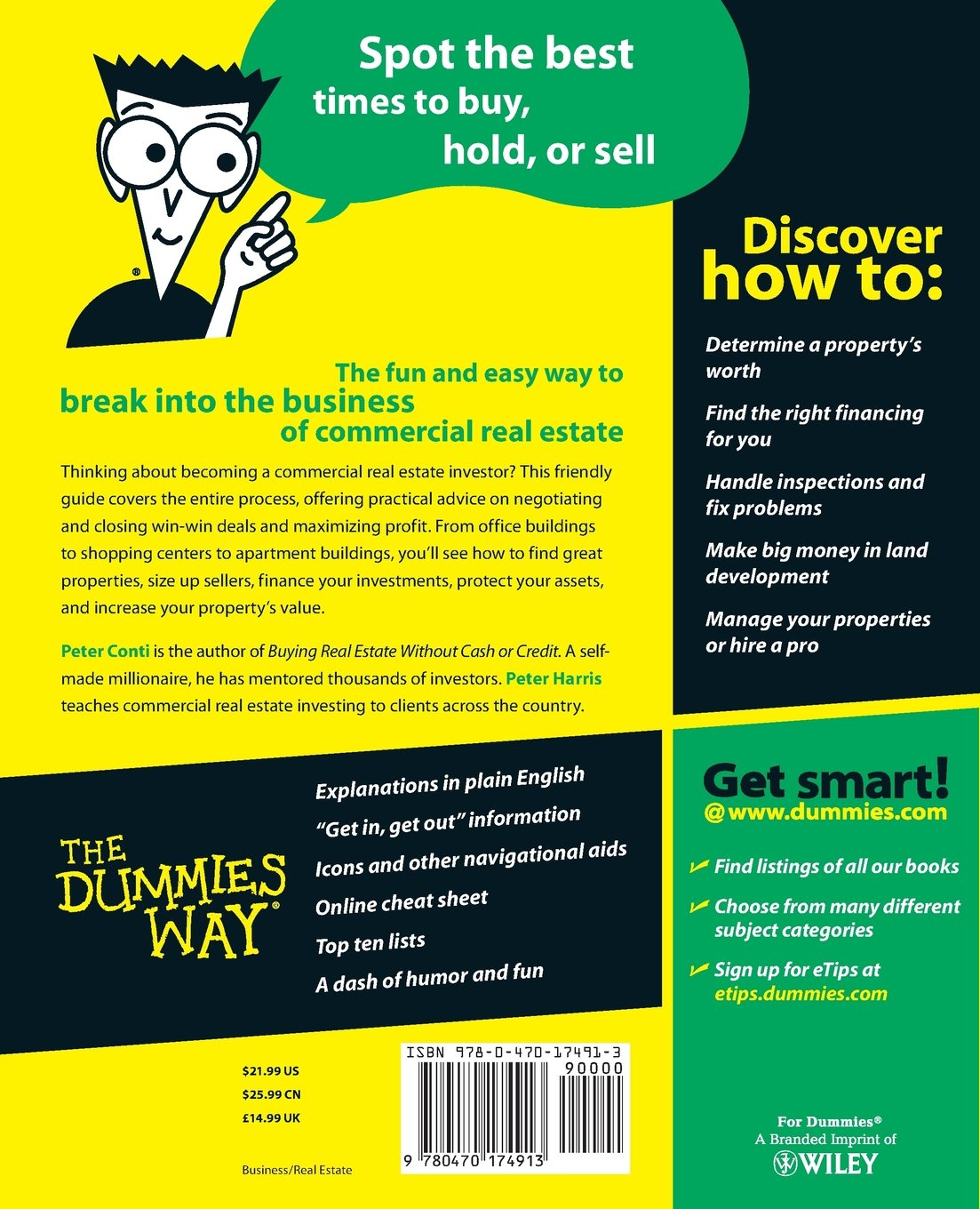 Commercial Real Estate Investing For Dummies: Peter Conti