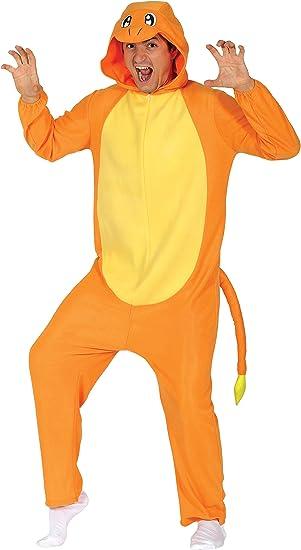 Guirca- Disfraz adulto dragón, Color naranja, Talla 52-54 (84626.0 ...