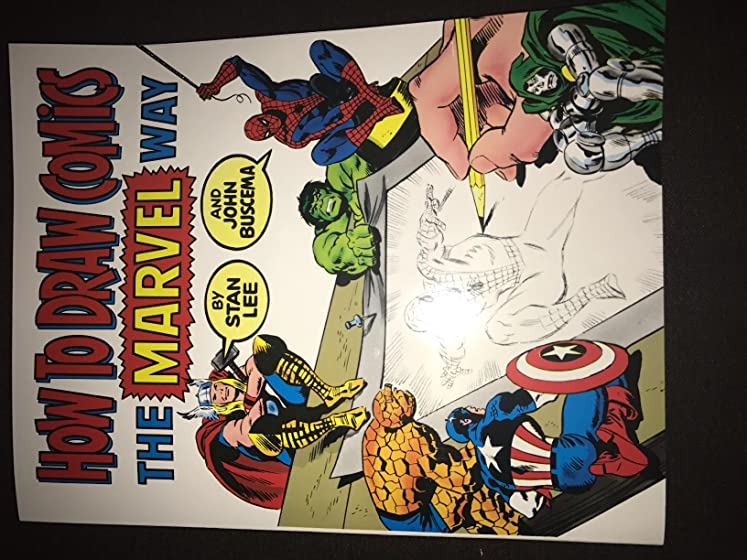 How To Draw Comics The Marvel Way Love this book!