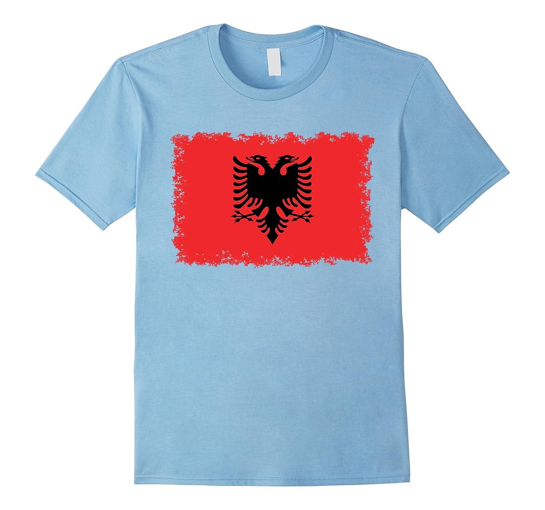 Albanian National Flag T-Shirt-TH