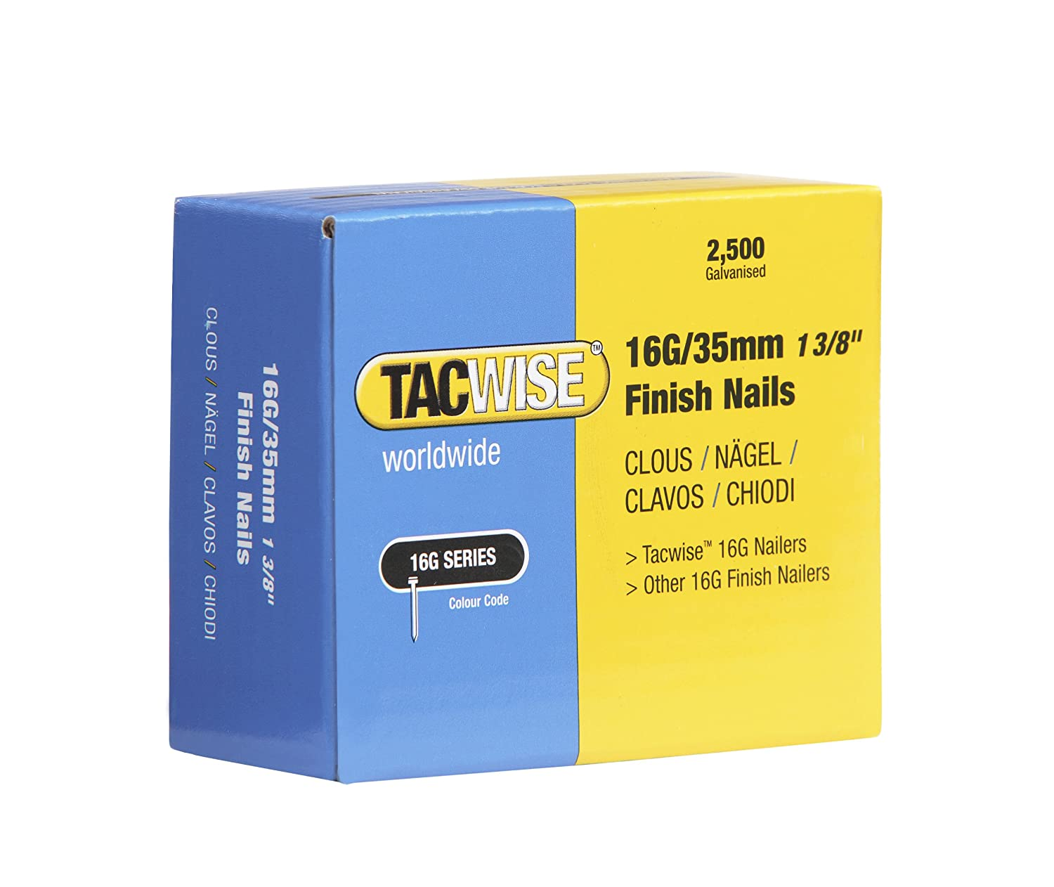 Tacwise 0319 Clavos 16 g//40 mm,