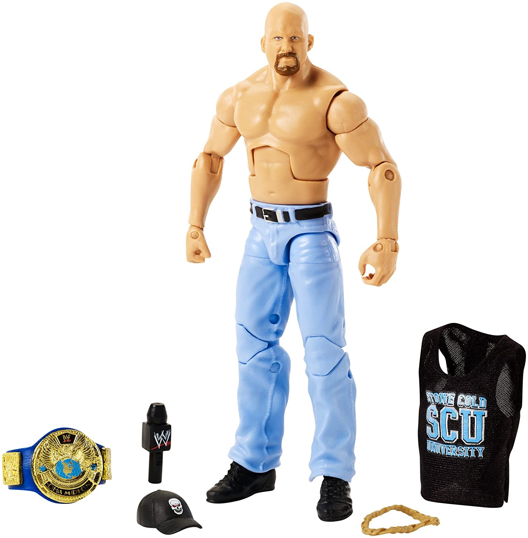 WWE FPT09 Best Of Attitude Era Stone Cold Steve Austin Action Figure Mattel - Import (Wire Transfer)