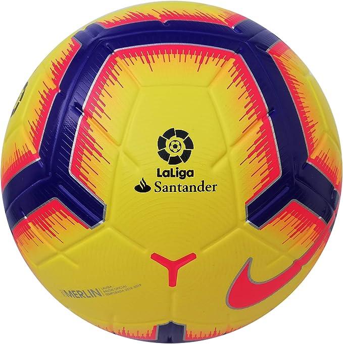 Nike Merlin Laliga Temporada 2018-2019 - Balón Oficial de fútbol ...