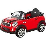 Kid Trax Mini Cooper 6V Electric Car, Red