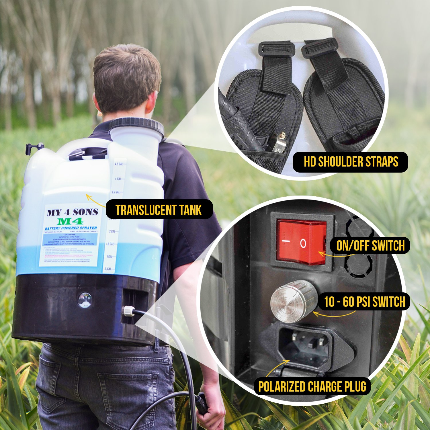 Best Backpack Sprayer Reviews 6