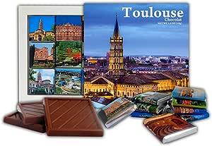 DA CHOCOLATE Caramelo Recuerdo TOULOUSE Set de Regalo de