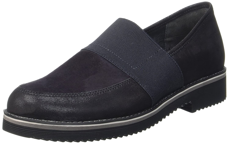Gabor Shoes Comfort Sport, Derby para Mujer 39 EU|Azul (Nightblsglitter)